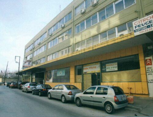 """Οικοδομή οδού Ανδρέου Γεωργίου 13 (""""Χώρος Φιλοξενίας Αστέγων"""")"""