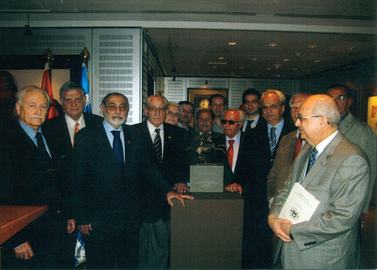 Επίσημη επίσκεψη στη Βιβλιοθήκη της Αλεξάνδρειας, 23 Απριλίου 2012