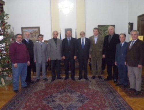 Eπίσκεψη του Διοικητικού Συμβουλίου της Φ.Α.Α.Θ. στο Υπουργείο Μακεδονίας – Θράκης και συνεργασία με τον Υπουργό κ. Θεόδωρο Καράογλου