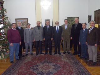 13 Δεκεμβρίου 2012: Επίσκεψη του Δ.Σ. της Φ.Α.Α.Θ. με τον Υπουργό Μακεδονίας Θράκης