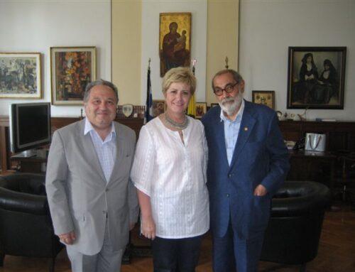 Συνάντηση του Προέδρου και του Νομικού Συμβούλου της Φ.Α.Α.Θ. με την Υφυπουργό Εσωτερικών και Διοικητικής Ανασυγκρότησης στο Υπουργείο Μακεδονίας Θράκης, 28 Ιουλίου 2015