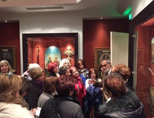 Επίσκεψη των μελών της ΧΕΝ Κέντρου Θεσσαλονίκης στο Μουσείο και την Αίθουσα Τέχνης Φ.Α.Α.Θ._7 Μαρτίου 2017