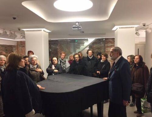 Ξενάγηση μελών του Συνδέσμου Φίλων του Αρχαιολογικού Μουσείου Θεσσαλονίκης στο Μέγαρο Φ.Α.Α.Θ._3 Φεβρουαρίου 2017