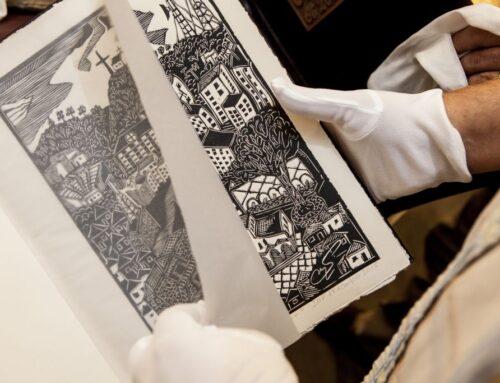 """Έκθεση Χαρακτικής του Στέλιου Σταύρου_""""Ο Πολύγυρος σε 26 χαρακτικά""""_Τετάρτη 4 Οκτωβρίου 2017_Αίθουσα Τέχνης Φ.Α.Α.Θ."""