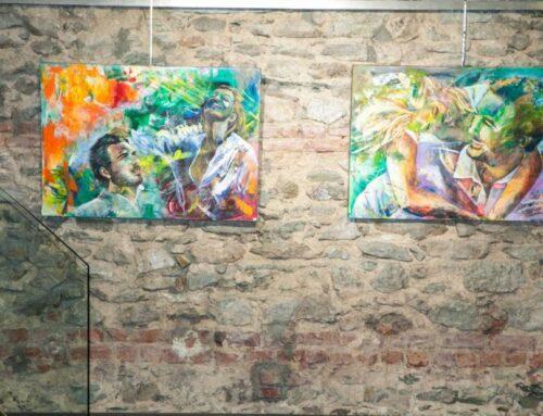 """Εγκαίνια 5ης ατομικής έκθεσης ζωγραφικής της Μαριάννας Πατινιώτη_Όλα βαίνουν καλώς""""_ Τετάρτη 12 Δεκεμβρίου 2018_Αίθουσα Τέχνης Φ.Α.Α.Θ."""
