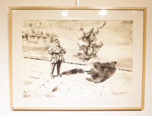 Εγκαίνια Έκθεσης Ζωγραφικής του Παύλου Μιχαηλίδη_Στιγμιότυπα_Πέμπτη 6 Φεβρουαρίου 2020_Αίθουσα Τέχνης Φ.Α.Α.Θ.