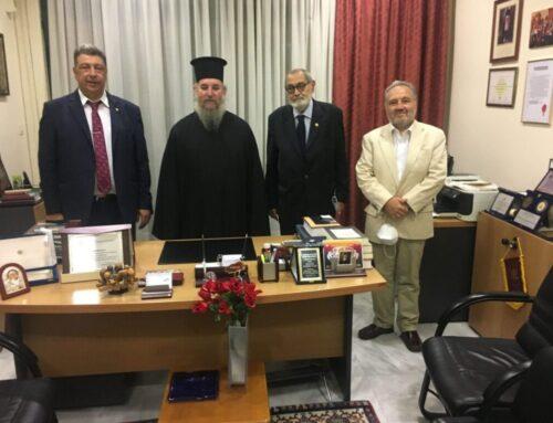 Υποδοχή του νέου Μητροπολίτου Ίμβρου και Τενέδου Σεβασμιώτατου κ. Κυρίλλου στην Ιμβριακή Ένωση Μακεδονίας-Θράκης_Πέμπτη 24 Σεπτεμβρίου 2020